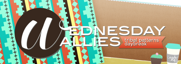 Wednesday Wallies: Minty Tribal Patterns + Day Break