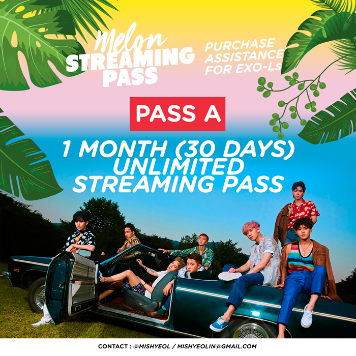 PASS A: Melon Unlimited Streaming Pass