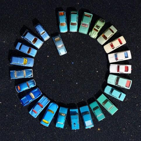 Galerie5 EvaGieselberg Candycars Blackedition