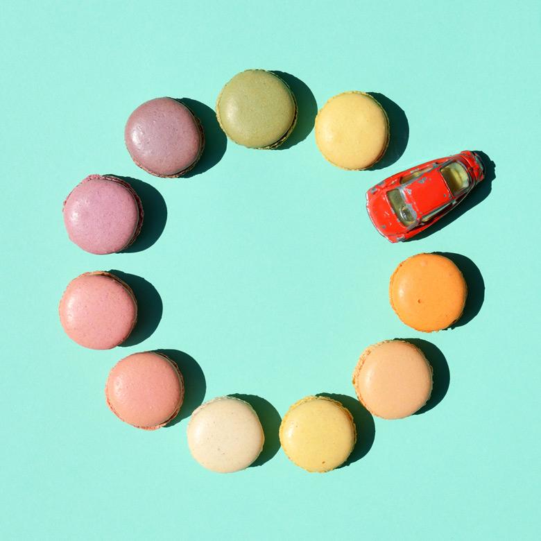 candycars maCARons EvaGieselberg