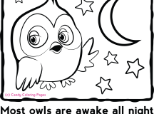 Candy Coloring Pages Animal Coloring Pages Hoot the Owl