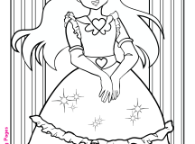 Free Princess Coloring Pages Penny Candy Coloring Pages for Kids