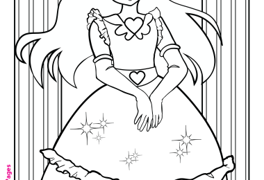 Free Coloring Pages: Princess Coloring Pages