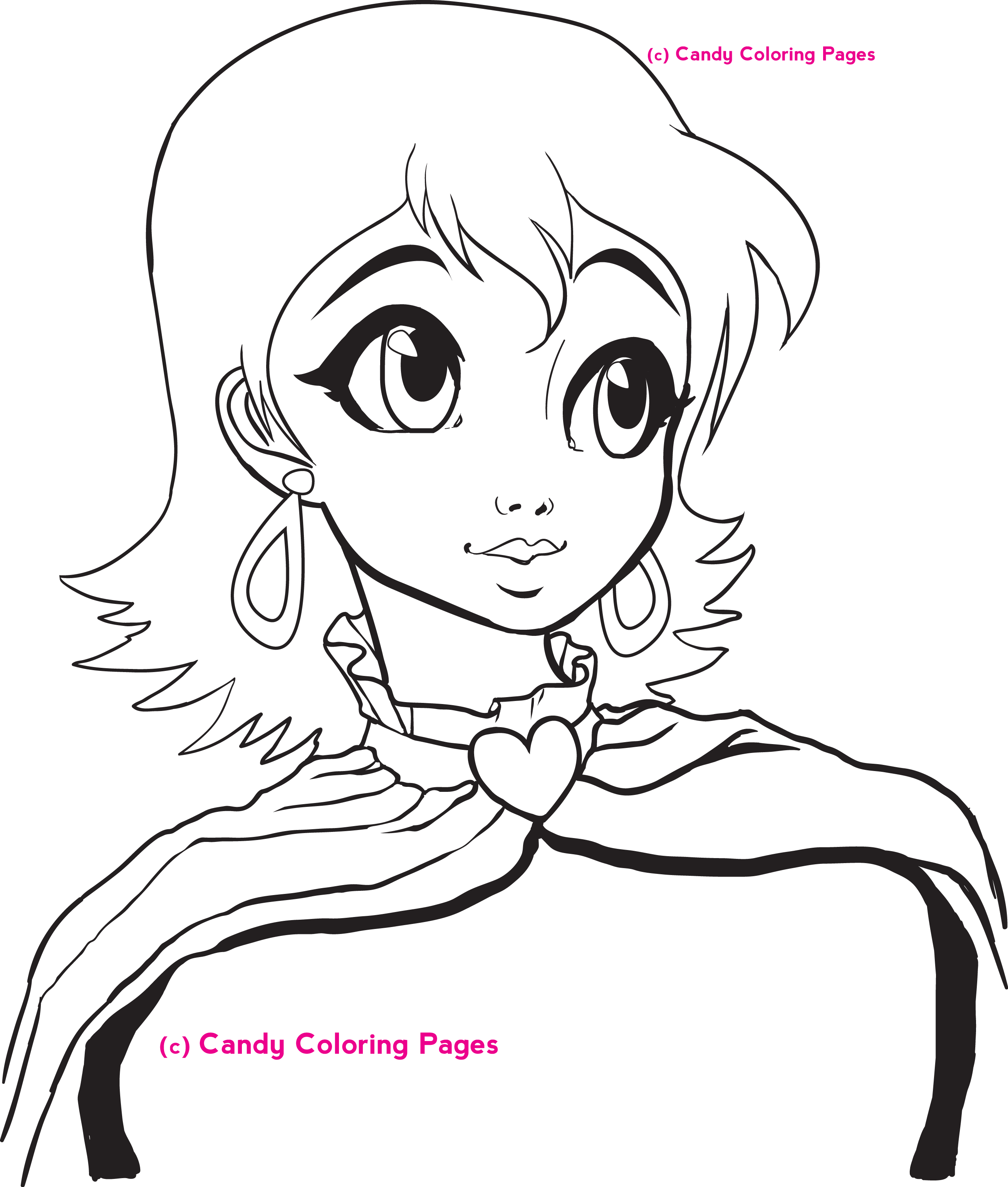Marvelous! Free Princess Coloring Pages