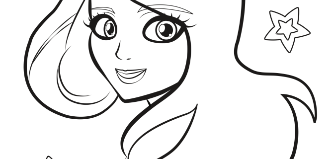 Another Free Princess Coloring Page!