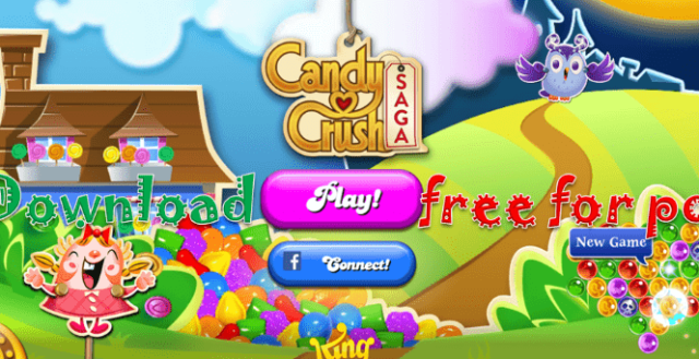 Candy Crush Saga Game Free Download For PC | Download Candy