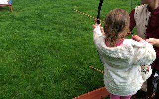 Warwick Castle Kids Archery, Glamping Review