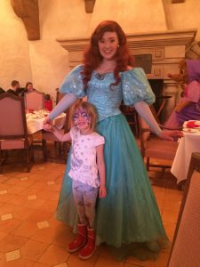 Ariel, princess meet and greets, disneyland