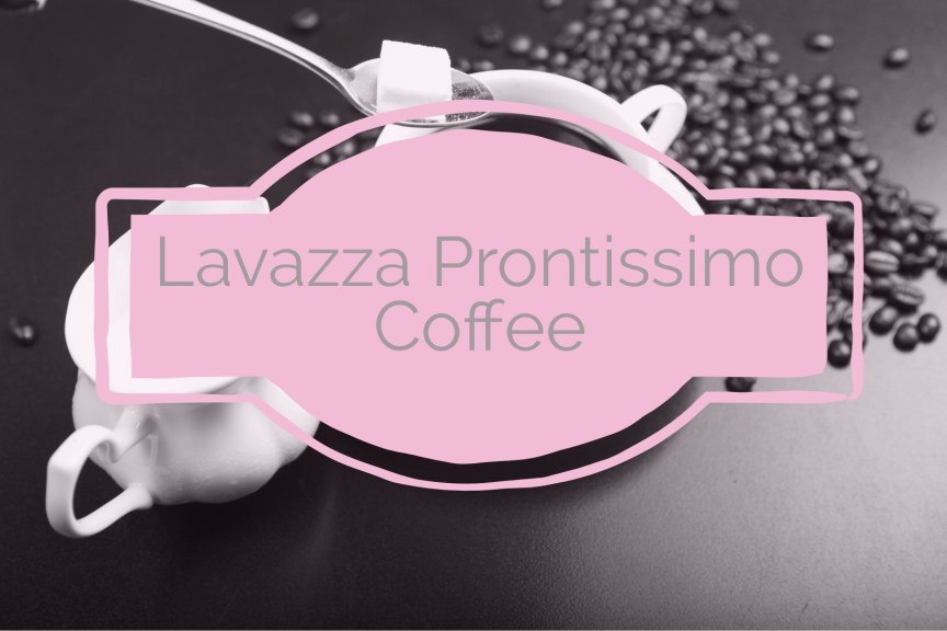 lavazza prontissimo coffee