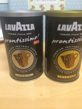 lavazza coffee at home, coffee review, prontissimo coffee review