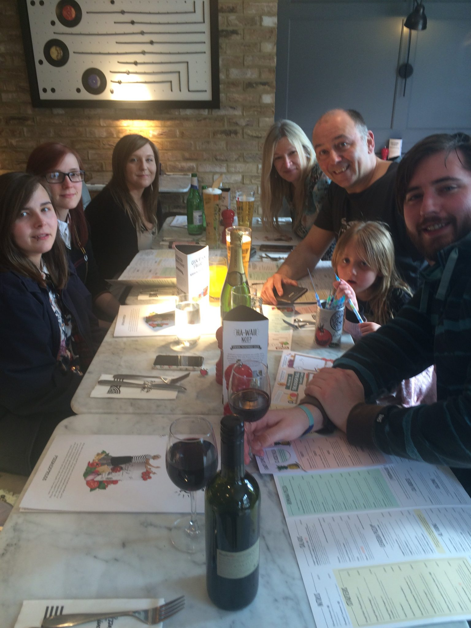 Pizza Express Andover Review Candyfloss Dreams