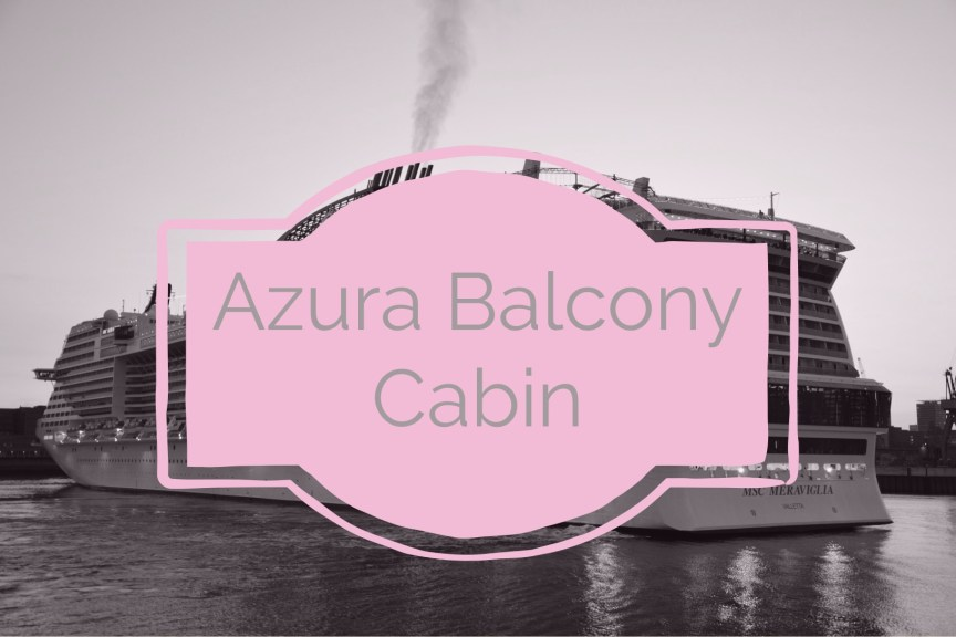 azura balcony cabin tour