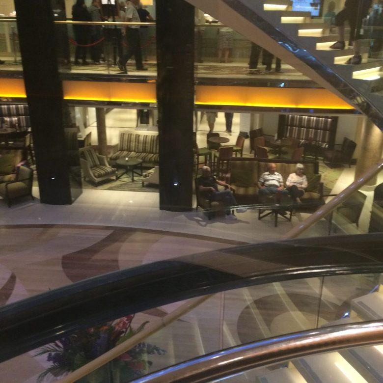 azura atrium, azura cruise ship
