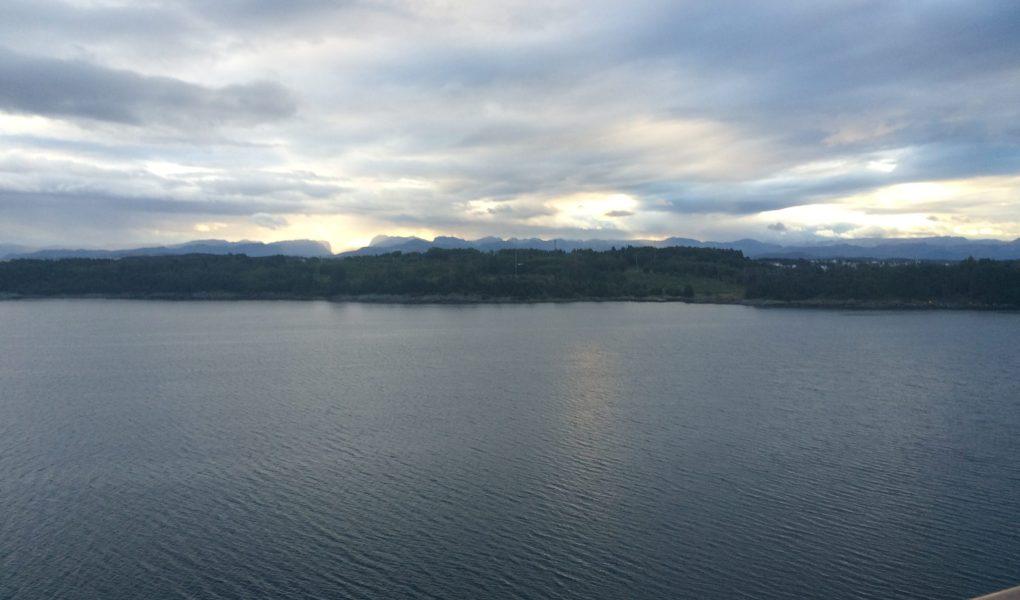 entering stavanger by boat, norway islands, norway landscapes