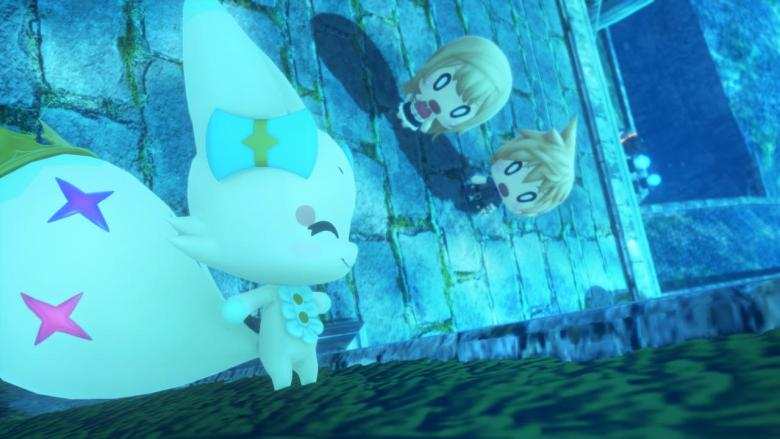final fantasy, world of final fantasy review, sunken temple