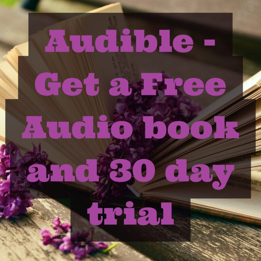 audible, get a free audio book with Audible