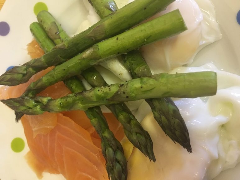 Slimming World Breakfast with Smoked Salmon