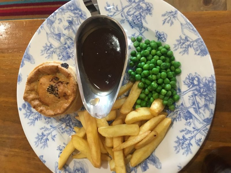 Mullion Holiday Park Food, Steak Doombar Pie