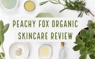 Peachy Fox London Based Organic Skincare Review