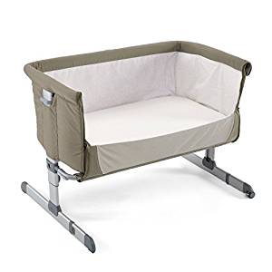 Chicco Next2Me Sleeping Crib, Bedside Crib, Chicco Crib, Grey, New baby wishlist