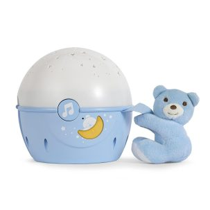 Chicco Next2 Stars Blue Nightlight with bear, New Baby Wishlist