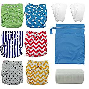 Reusable nappies with bamboo inserts and liners, new baby wishlist