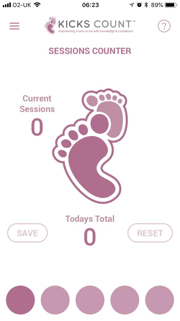 Kicks Count, Pregnancy Movement App