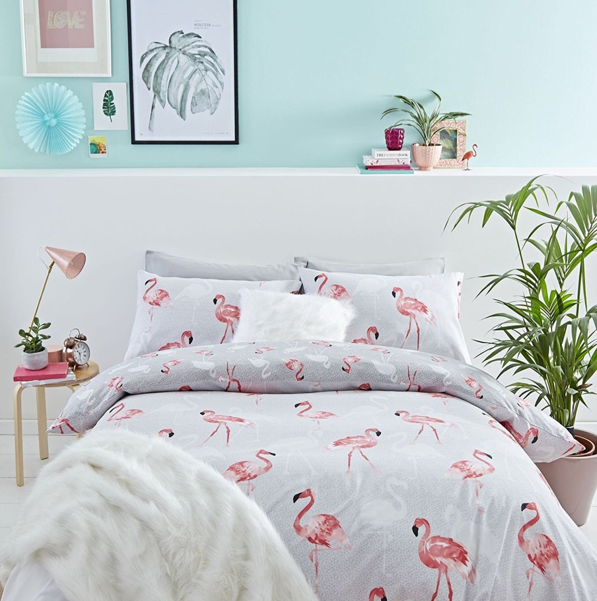 Flamingo Bedroom Decor, Flamingo Bedding Set