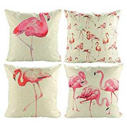 Flamingo Cushion Covers, Flamingo Bedroom