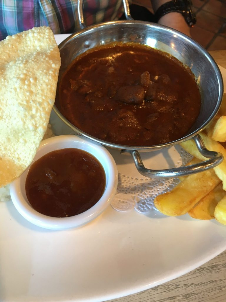 Curry, The Steamer Inn, Isle of Wight, Family Friendly Pub