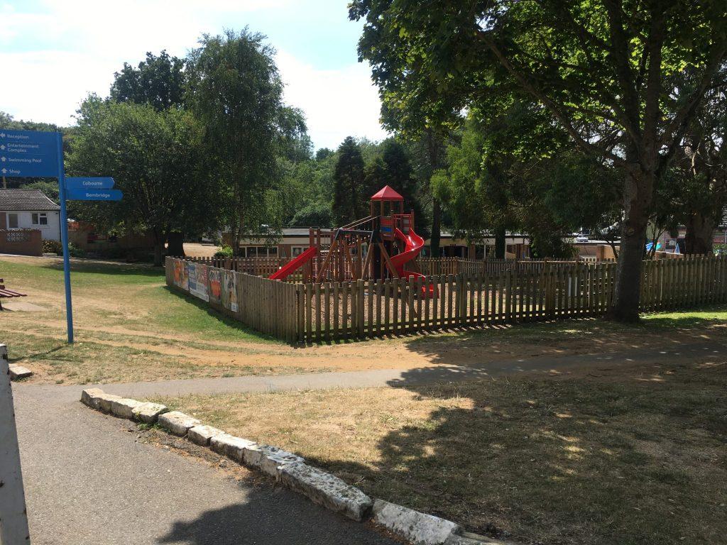 landguard holiday park play area