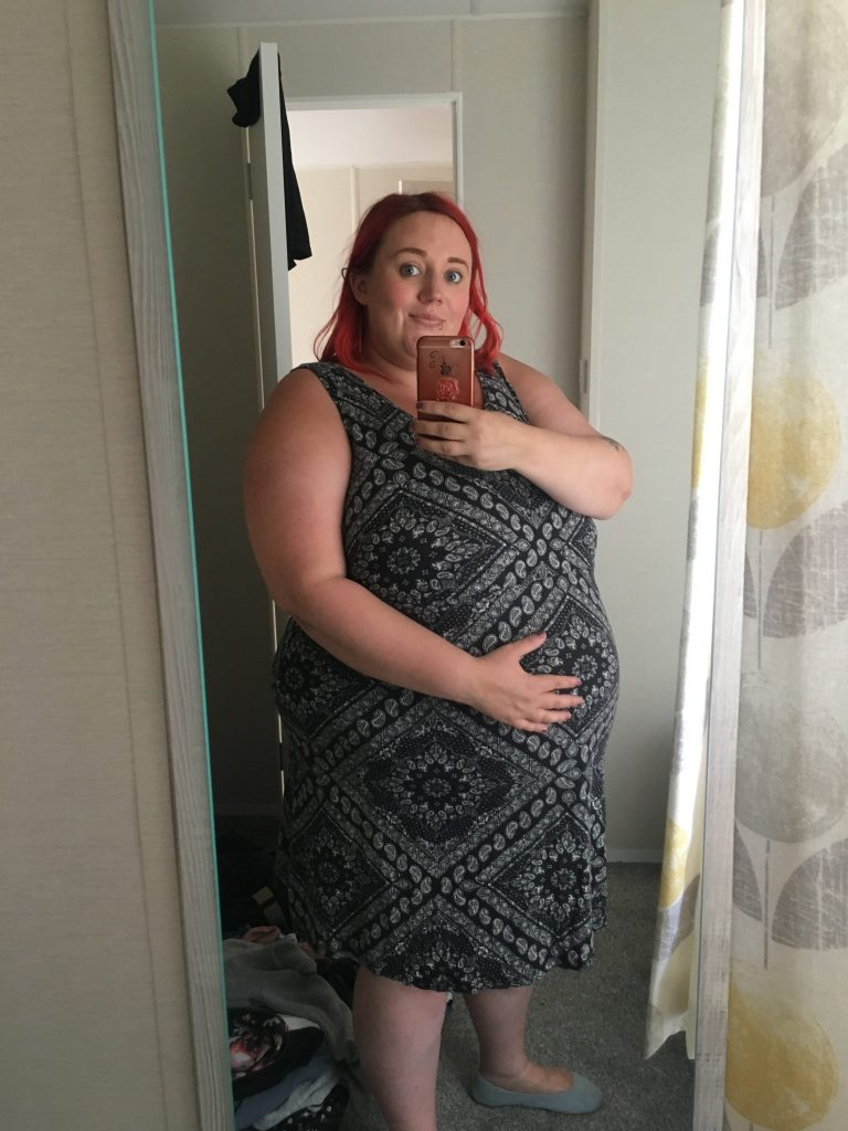 Pregnant at 28 weeks summer 2018, high BMI bump