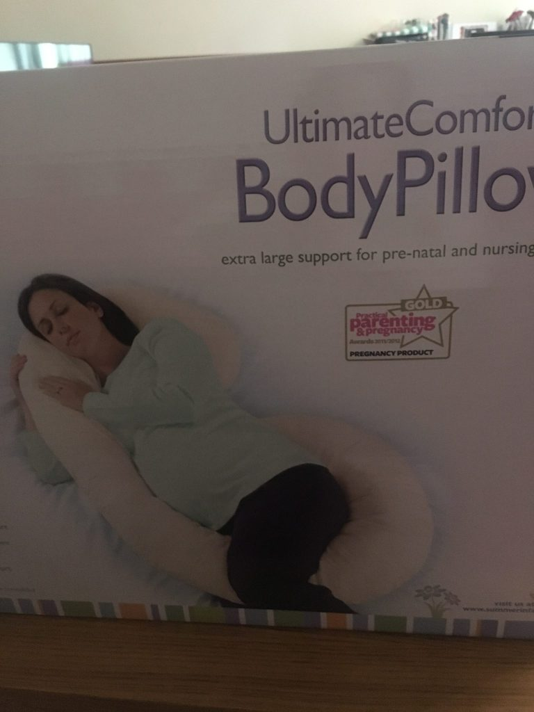 summer infant pregnancy body pillow