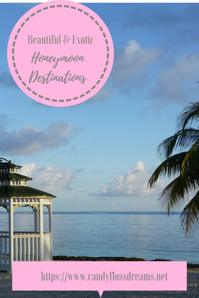 beautiful and exotic honeymoon destinations #honeymoon #travel #exotictravel #beach #palmtrees #couplestravel #honeymoontravel #honeymoondestinations