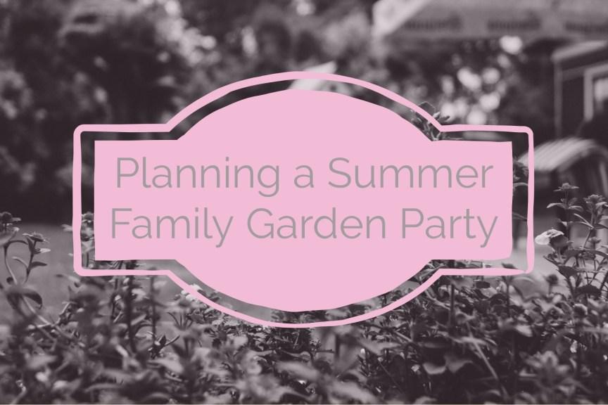 summer family garden party