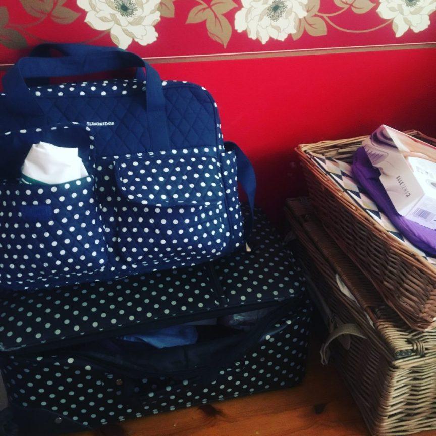 preparing for birth hospital bag