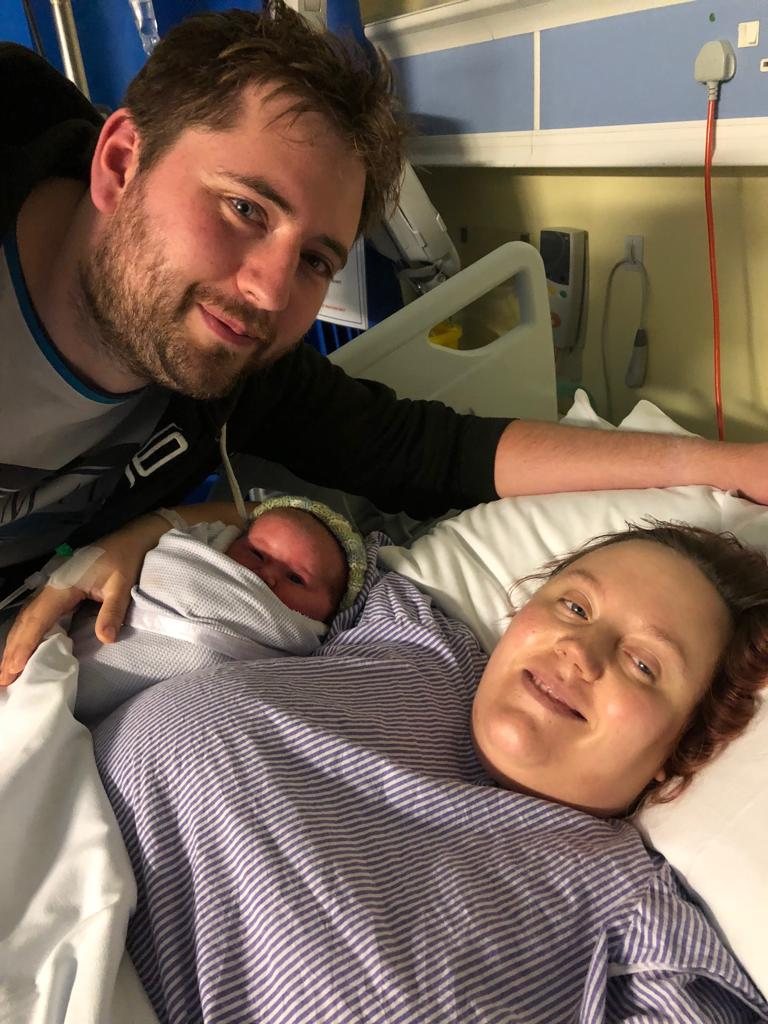 high bmi unplanned c-section birth story