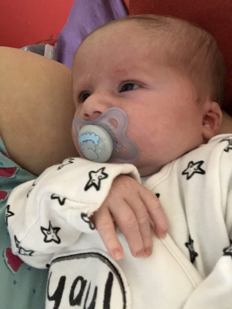 newborn baby, blog post about breastfeeding not working out
