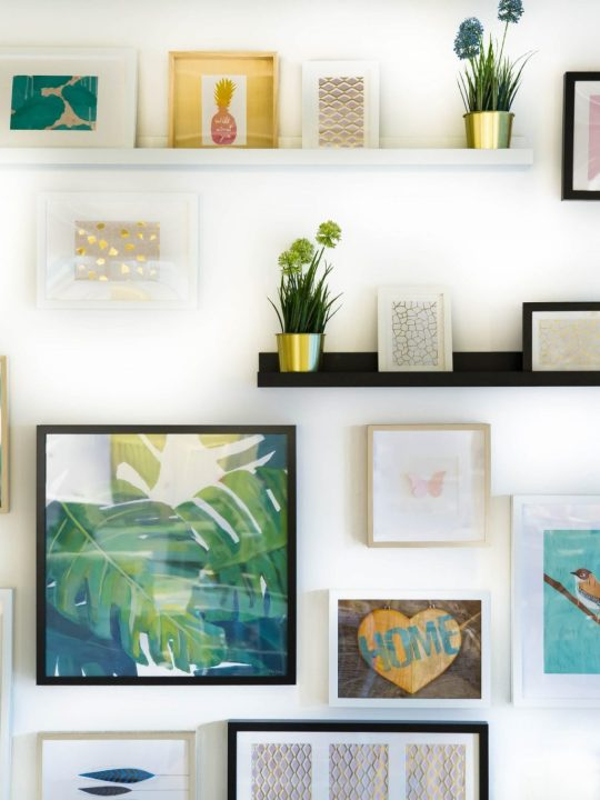 5 Ways to Creatively Display Wall Art in your Home