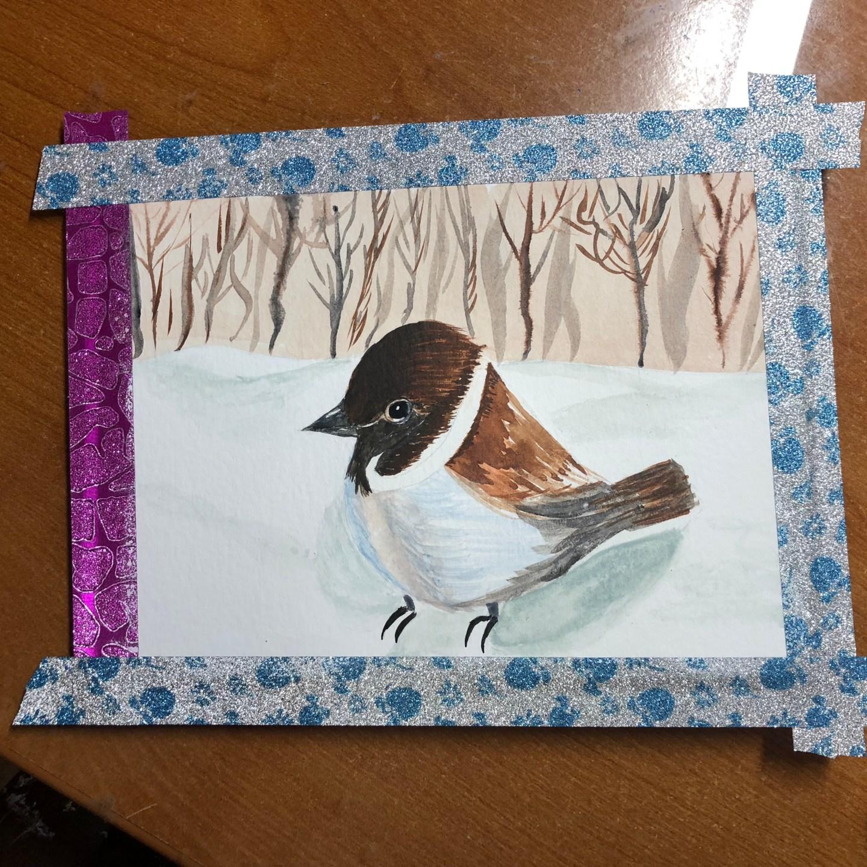 Watercolor – Little Bird