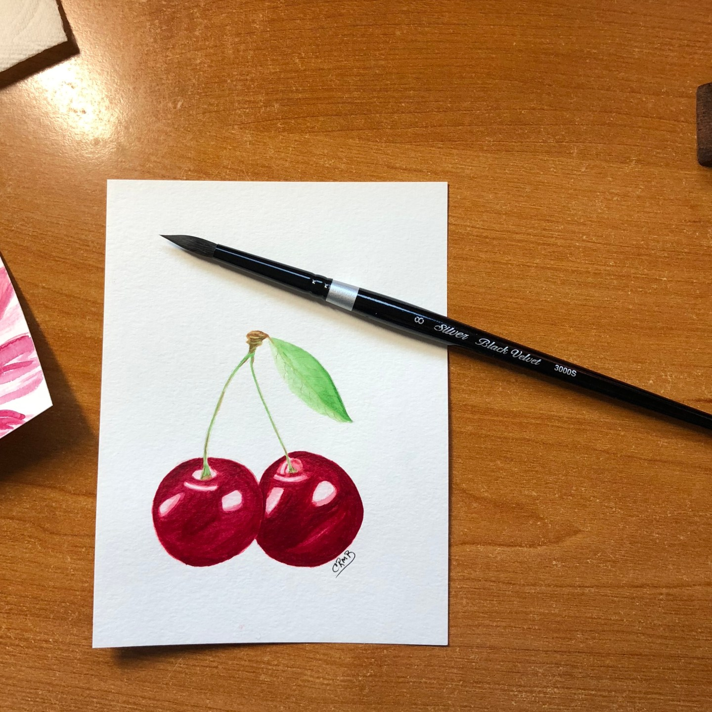 Watercolor – Cherries