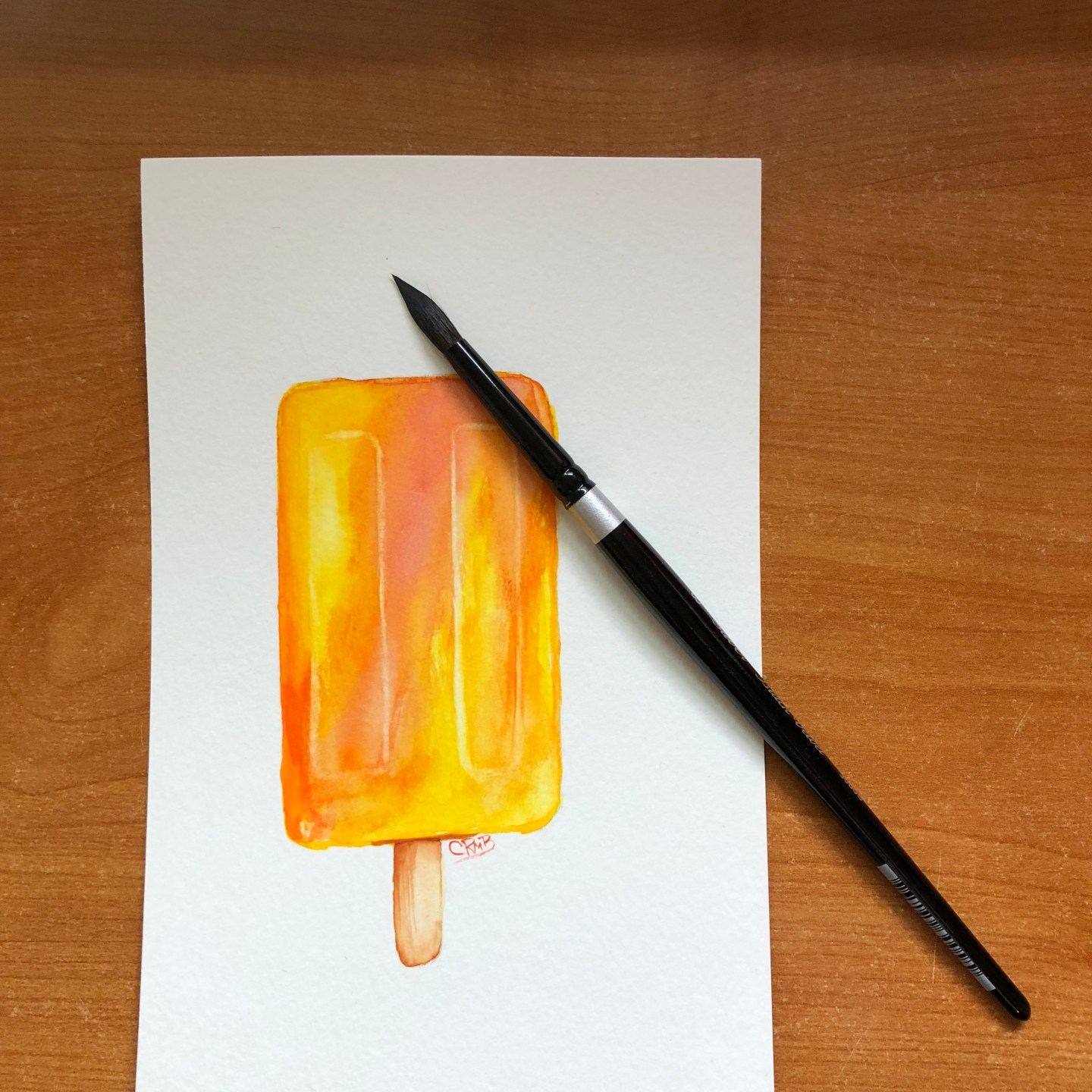 Watercolor – Popsicles