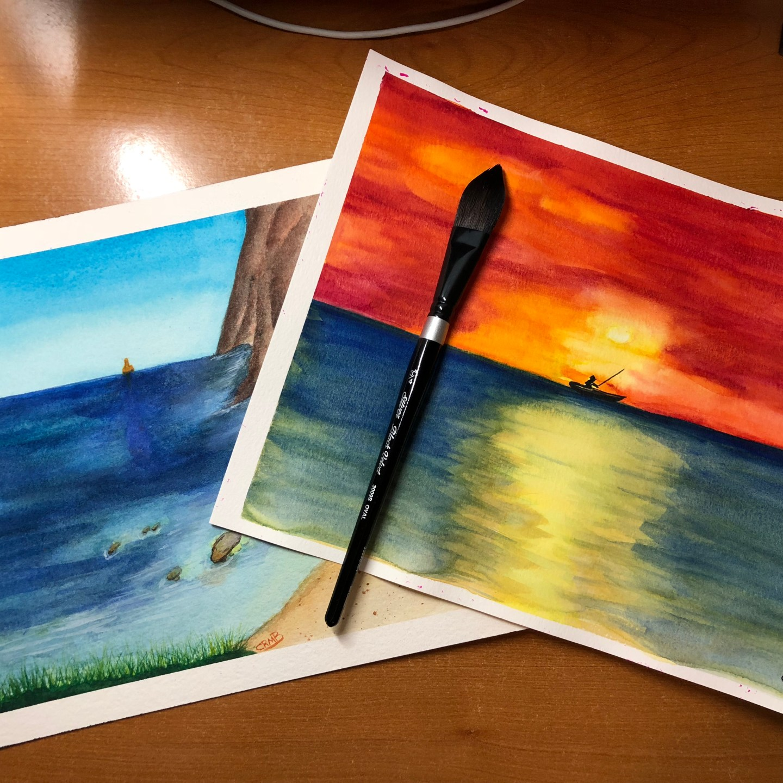 Watercolor – Ocean Views