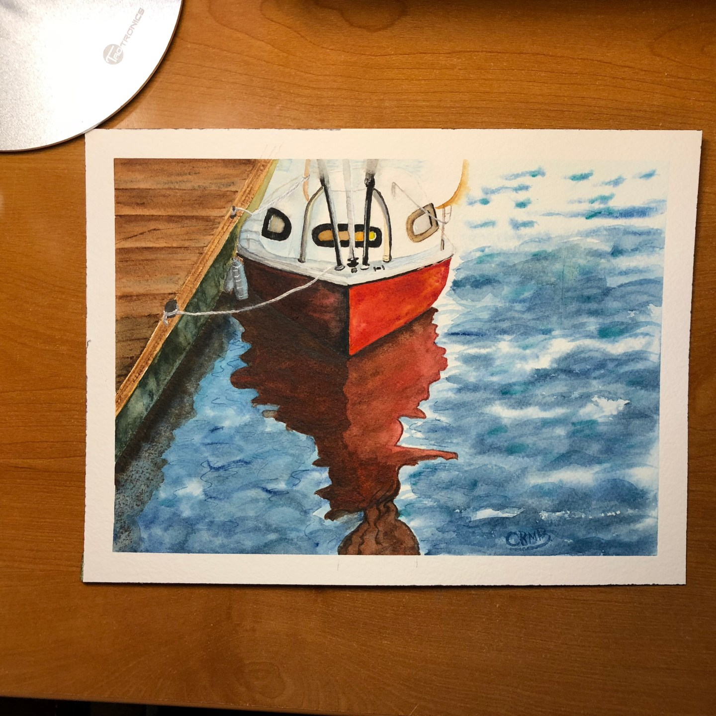 Watercolor – The Boat