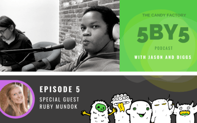 5BY5 Ep. 5 with Ruby Mundok