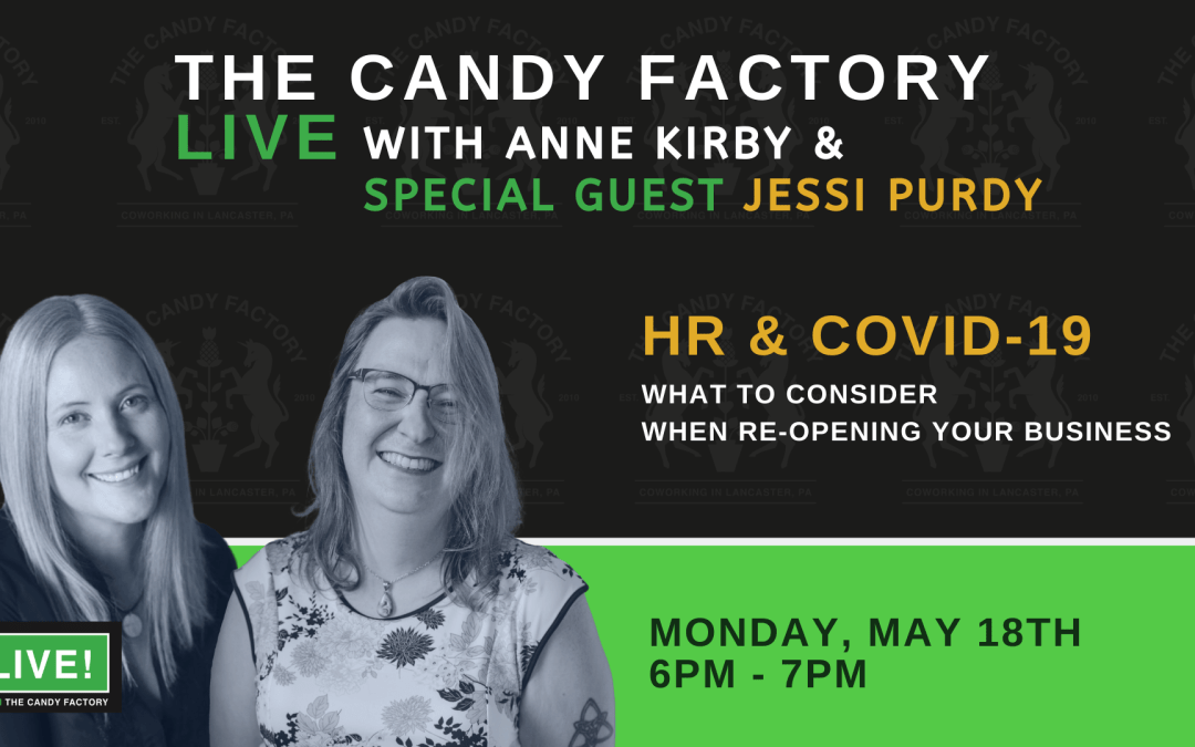 LIVE FROM THE CANDY FACTORY Ep. 1 with Jessi Purdy