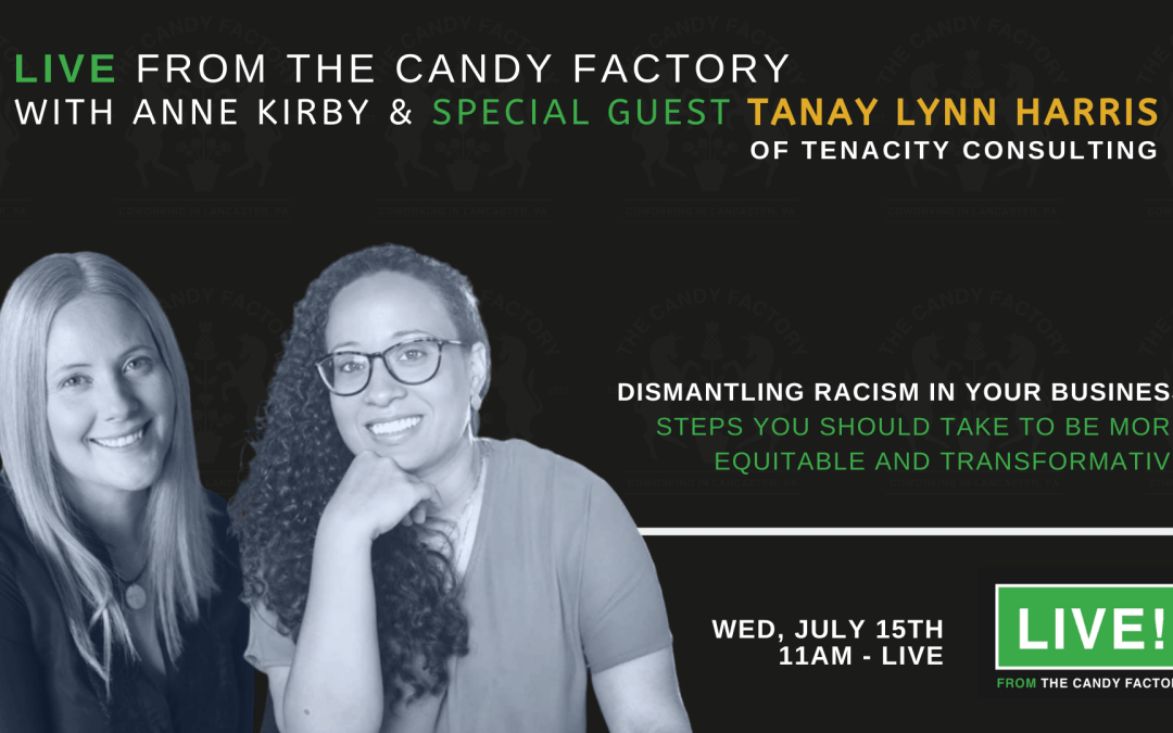 LIVE FROM THE CANDY FACTORY Ep. 3 with Tanay Lynn Harris