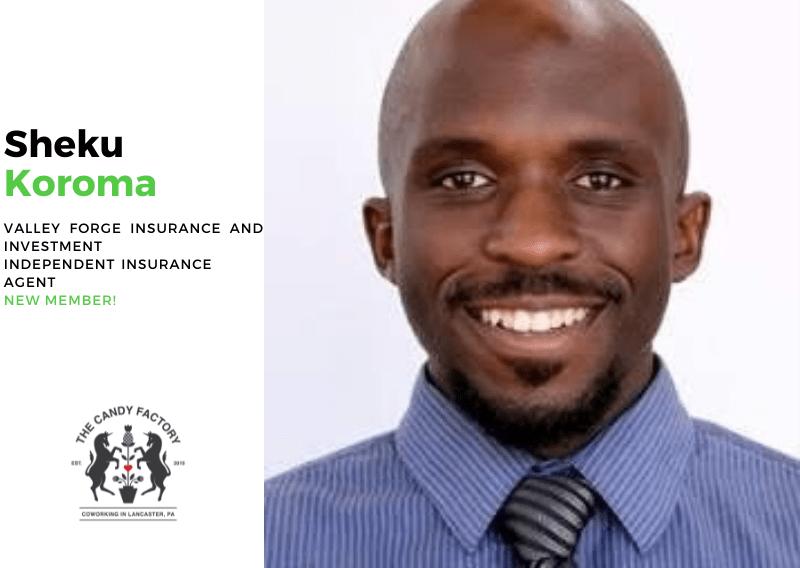 New Member Spotlight – Sheku Koroma