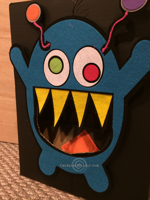 Feed The Monster Toss Game