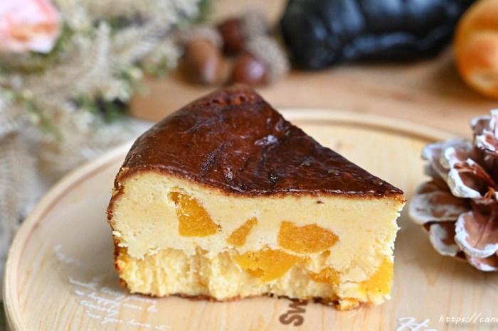 牛胖手作|不只流淚可頌,還有超夯巴斯克乳酪蛋糕,激推芋頭及芒果口味,內餡滿滿都是料,用料毫不手軟!